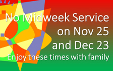 No Midweek Service